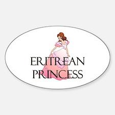 Eritrean Princess Oval Decal