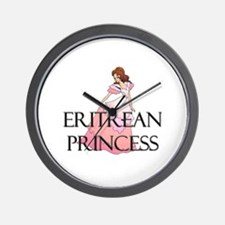 Eritrean Princess Wall Clock