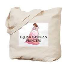 Equatoguinean Princess Tote Bag