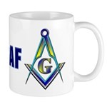 US Air Force Masonic Mug