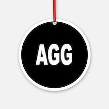 AGG Ornament (Round)