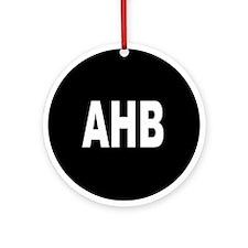 AHB Ornament (Round)