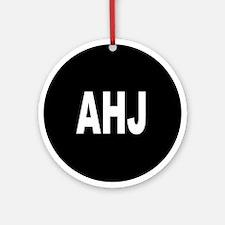 AHJ Ornament (Round)