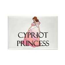 Cypriot Princess Rectangle Magnet