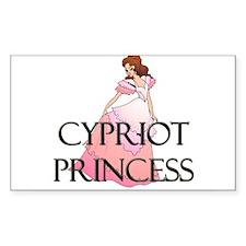 Cypriot Princess Rectangle Decal