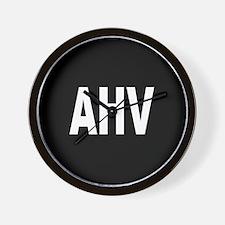 AHV Wall Clock