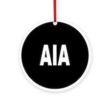 AIA Ornament (Round)