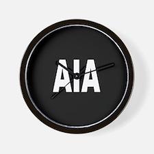 AIA Wall Clock