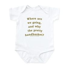Hell in a Handbasket Joke  Infant Bodysuit