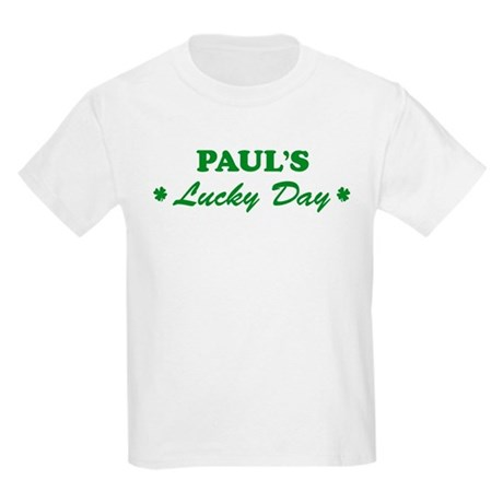 PAUL - lucky day Kids Light T-Shirt