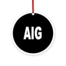 AIG Ornament (Round)