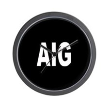 AIG Wall Clock
