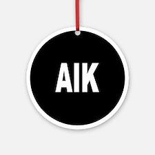AIK Ornament (Round)