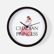 Chadian Princess Wall Clock