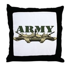 US Army Tank Throw Pillow
