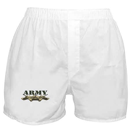 US Army Tank Boxer Shorts