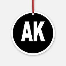 AK Ornament (Round)