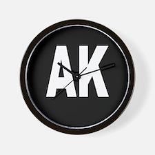 AK Wall Clock