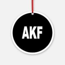 AKF Ornament (Round)