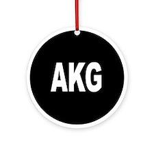 AKG Ornament (Round)