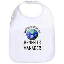 World's Coolest BENEFITS MANAGER Bib