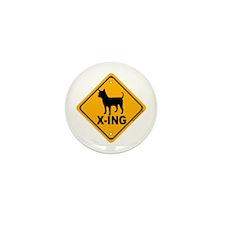 Chihuahua X-ing Mini Button (100 pack)