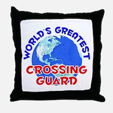 World's Greatest Cross.. (E) Throw Pillow