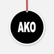AKO Ornament (Round)