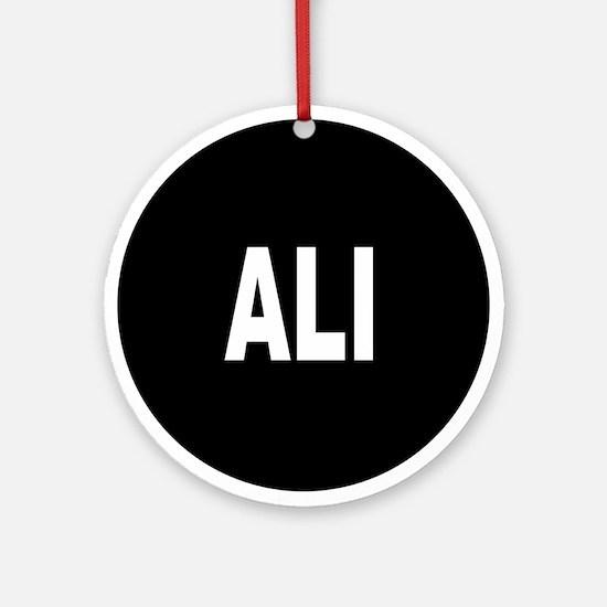 ALI Ornament (Round)