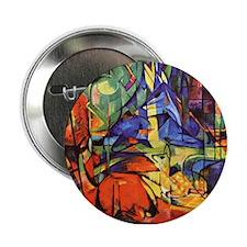 "Deer by Franz Marc 2.25"" Button"