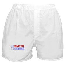 Ms. Square Peg Boxer Shorts