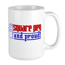 Ms. Square Peg Mug