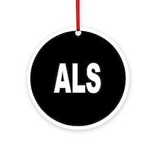 ALS Ornament (Round)