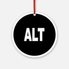 ALT Ornament (Round)