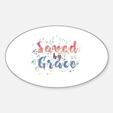 Cute That grace Sticker (Oval)