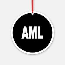 AML Ornament (Round)