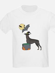 Doberman Witch Halloween T-Shirt