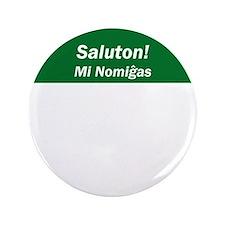 """Esperanto Name Tag 3.5"""" Button (100 pack)"""