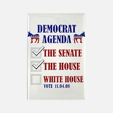 Democrat Agenda Rectangle Magnet