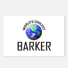 World's Coolest BARKER Postcards (Package of 8)