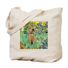 Lakeland T. & Irises Tote Bag