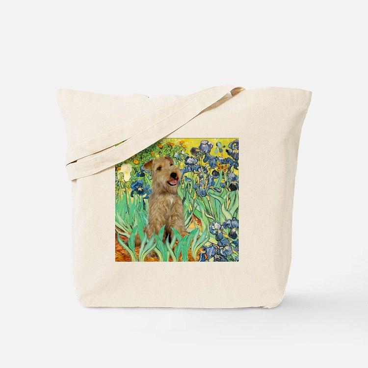 Lakeland T. & Irises Tote Bag