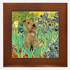 Lakeland T. & Irises Framed Tile