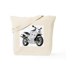 Triumph TT600 Motorbike Gray Tote Bag