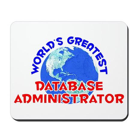 World's Greatest Datab.. (E) Mousepad