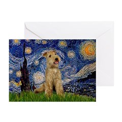 Starry Night Lakeland T. Greeting Cards (Pk of 10)