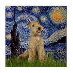 Starry Night Lakeland T. Tile Coaster