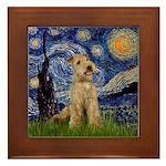 Starry Night Lakeland T. Framed Tile