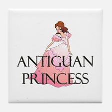 Antiguan Princess Tile Coaster