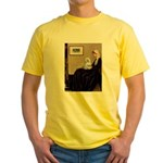 Whistler's Mother Maltese Yellow T-Shirt